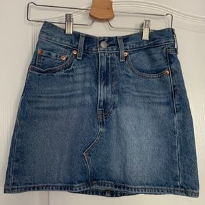 Super cute denim skirt